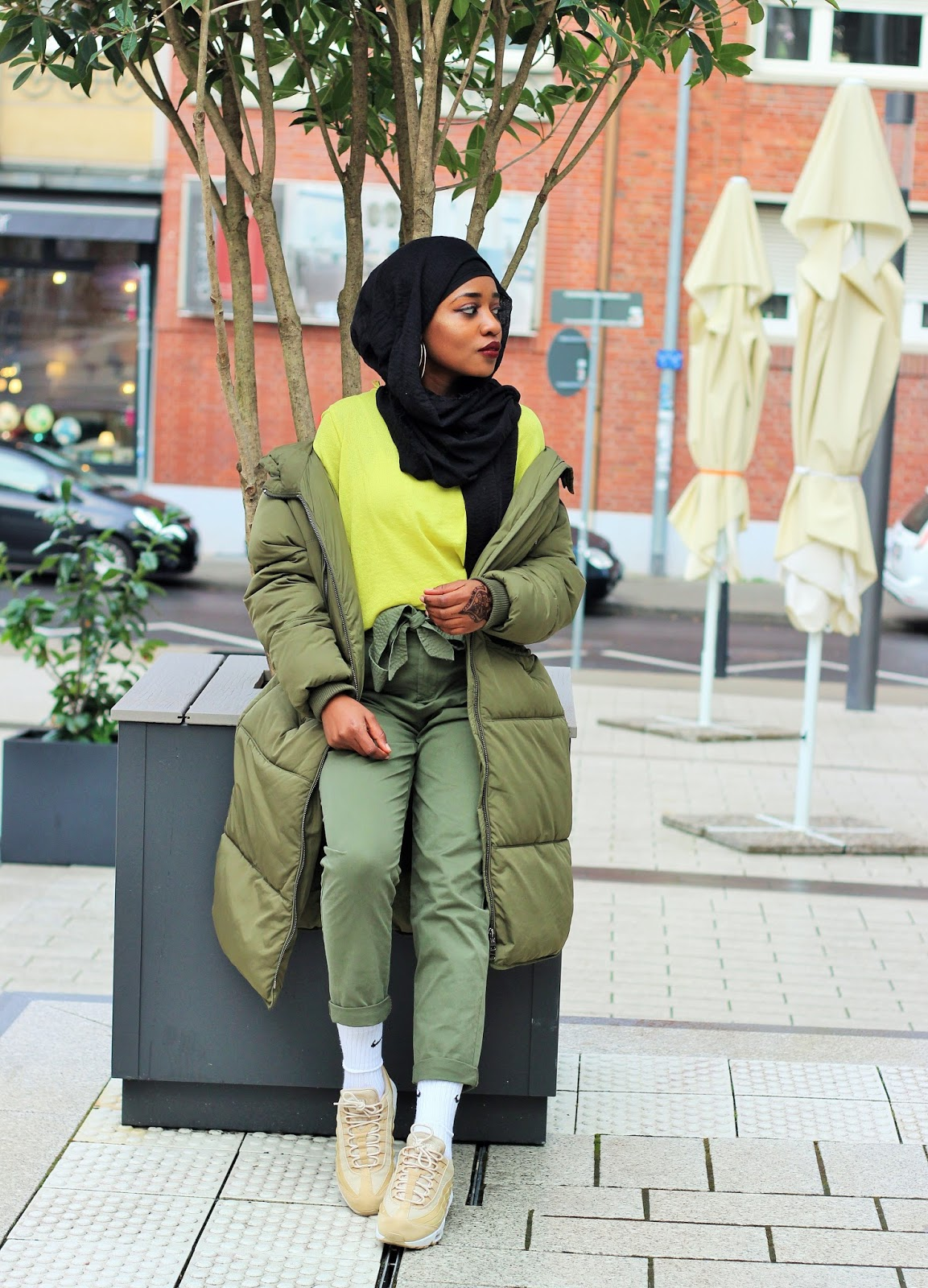 design intemporel aa001 75707 Ami Coco: HOW TO STYLE A KHAKI ON KHAKI LOOK WITH AIR MAX 95
