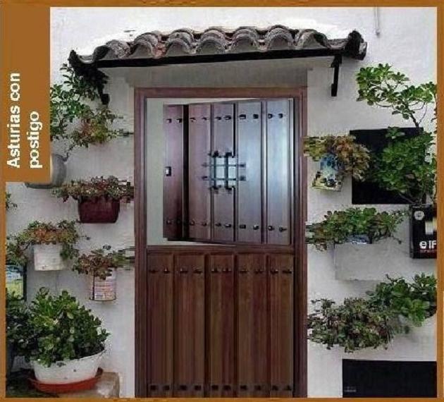 Puertas aluminio inpogal r sticas de lamas - Puertas exterior asturias ...