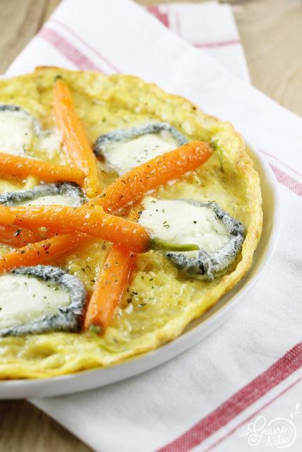 Omelette Chèvre Selles sur Cher Carottes