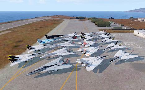 Arma3用F-14 Tomcat MODの全スキン