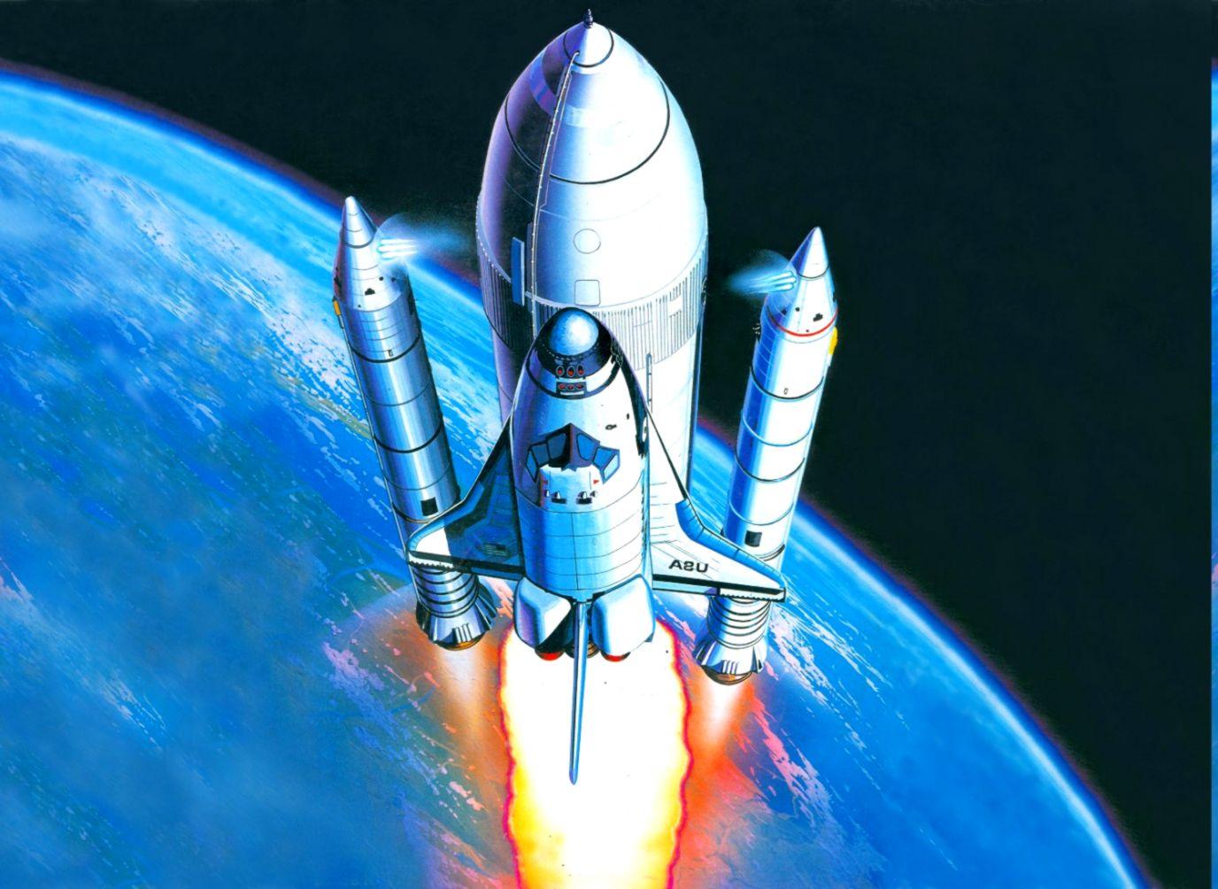 shuttle art  Fantasy Space Shuttle Art Wallpaper | Wallpapers Comp