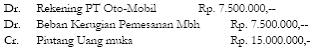 Akuntansi Murabahah Uang Muka 7