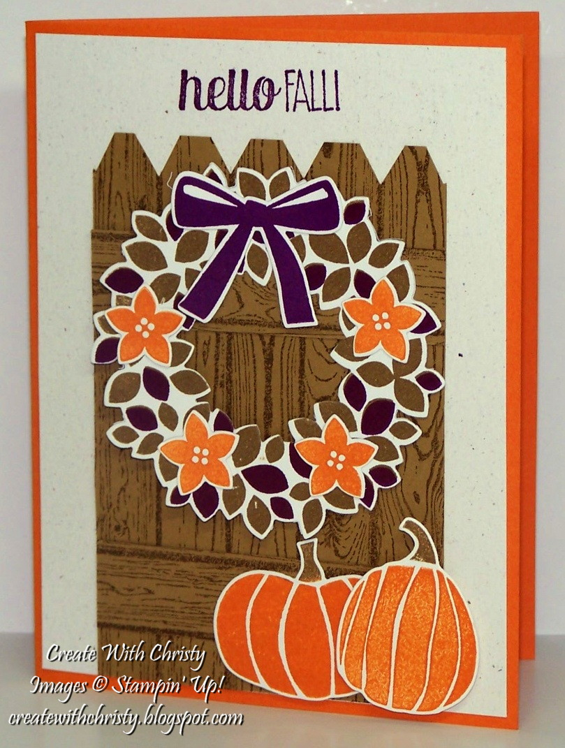 Create With Christy Wondrous Wreath Meets Fall Fest