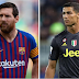 Ronaldo dares Lionel Messi to leave Barcelona for Serie A