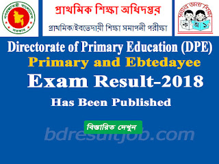 Primary and Ebtedayee Examination 2018 Result