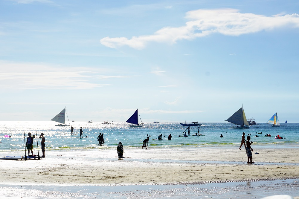 Boracay during rainy season; Boracay in August to November