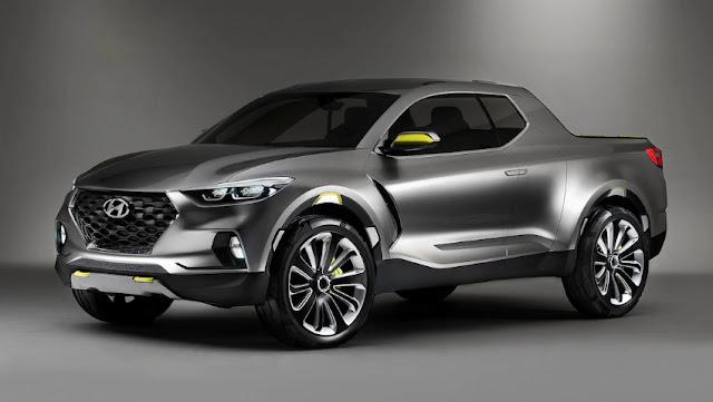 Концепт Hyundai Santa Cruz поступит в продажу в 2019