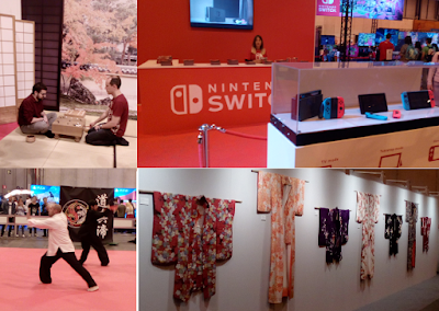 little japan, espacio nintendo, dojo y expo de kimonos