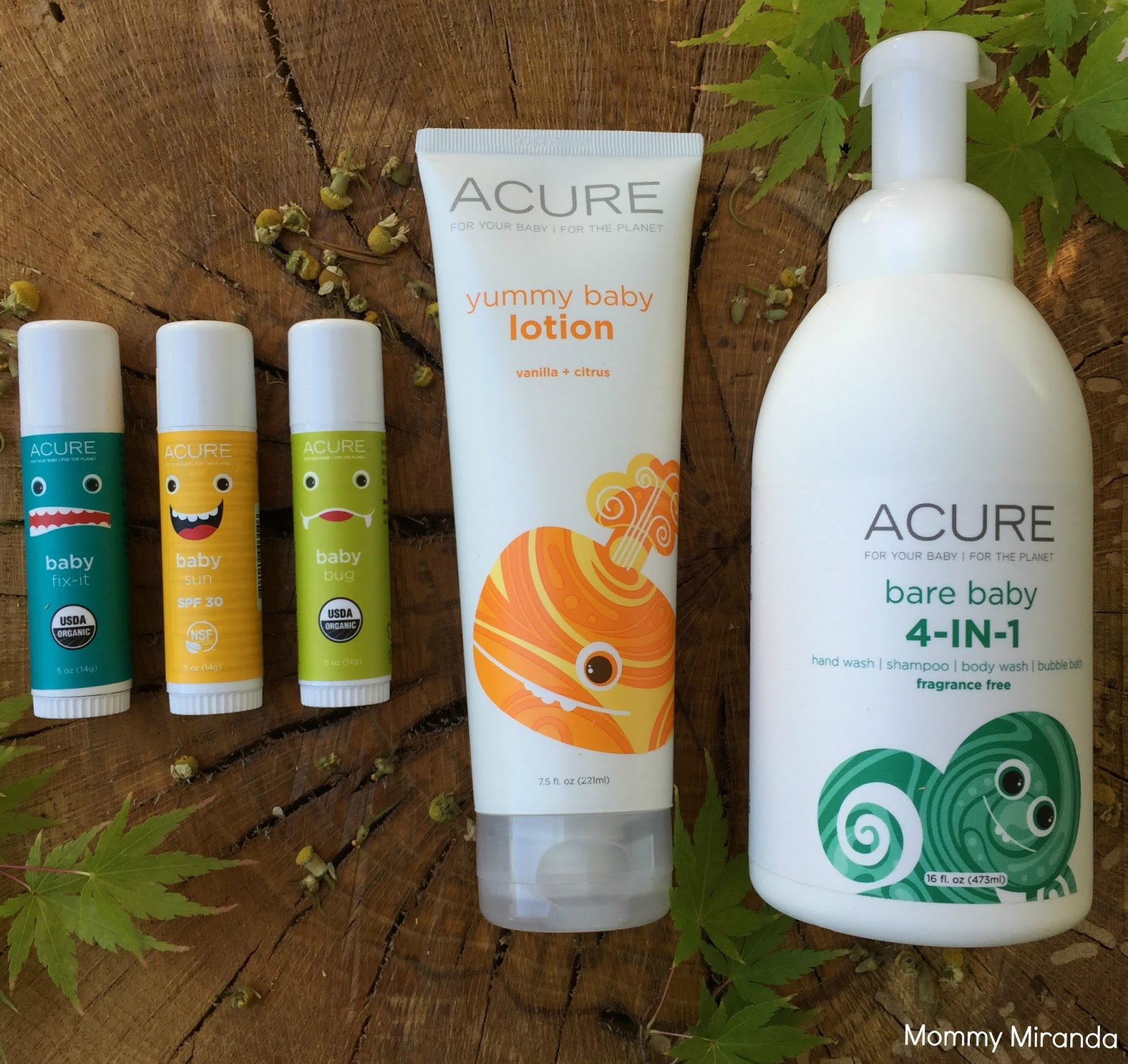 Mommy Miranda Acure Organics Baby Line Review Amp Giveaway