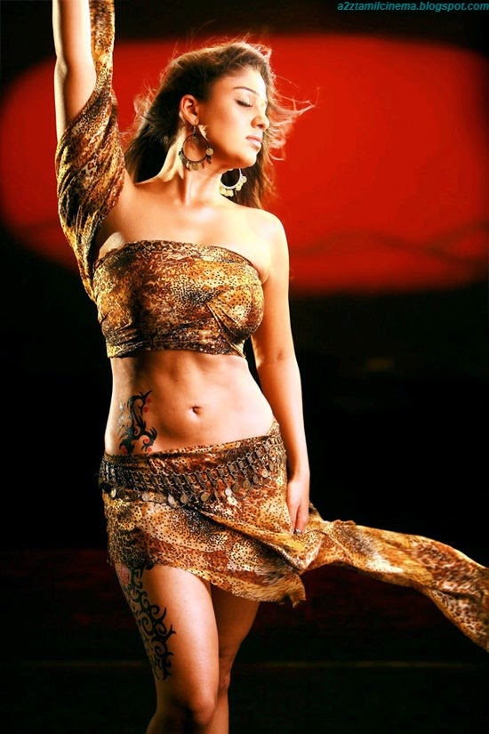 Actress Nayanthara Hot In Villu Images  Tamil Movie -1865