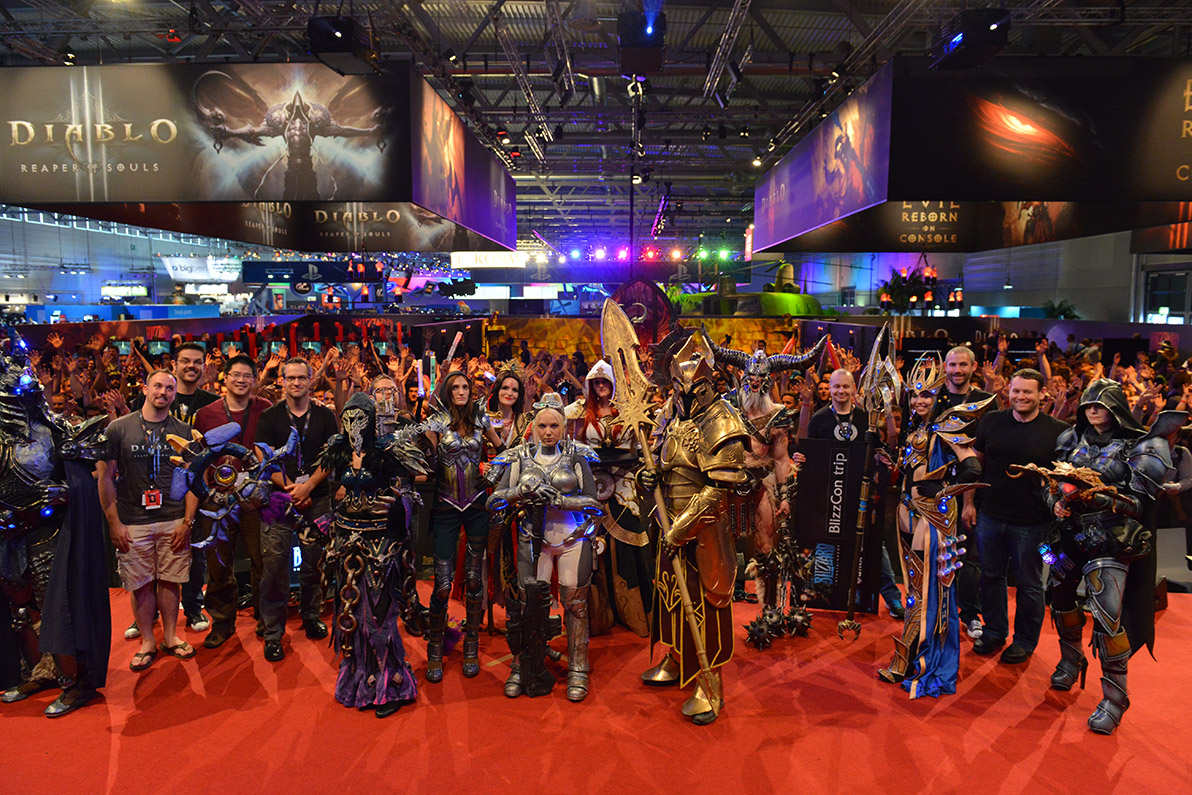 major diablo iii announcement to be made at gamescom. Black Bedroom Furniture Sets. Home Design Ideas