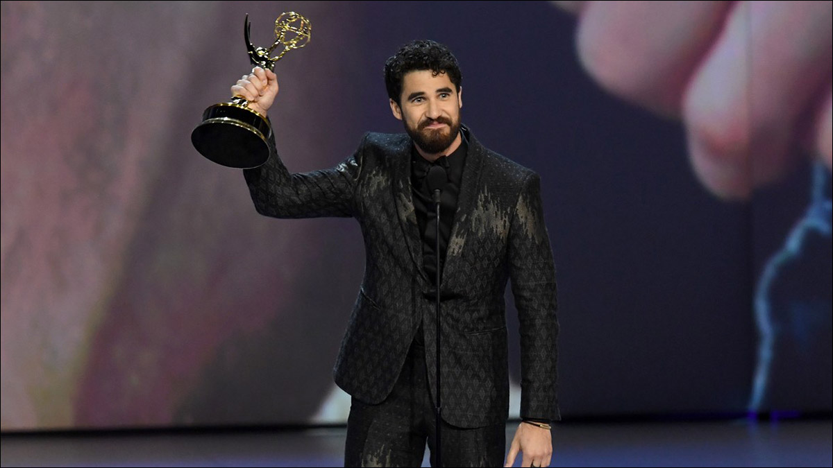 Darren Criss wins Emmy for 'American Crime Story'