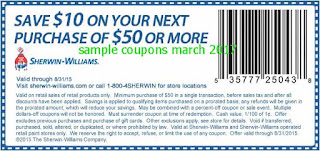 Sherwin Williams coupons march