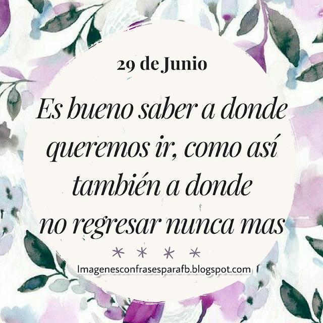 Frase para el Día 29 de Junio