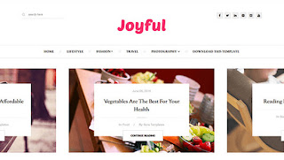 JoyFul Fashion Template