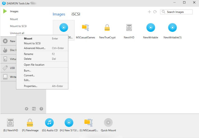 DAEMON Tools Lite With SPTD (Screenshot 3)