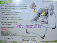 Baby Swing BabyDoes CH-SW109A Electric Swing
