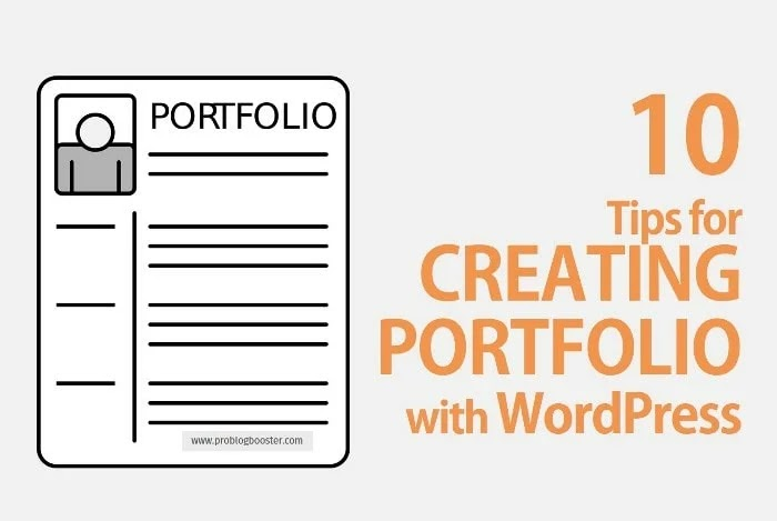 10 Tips for Creating Portfolio with WordPress