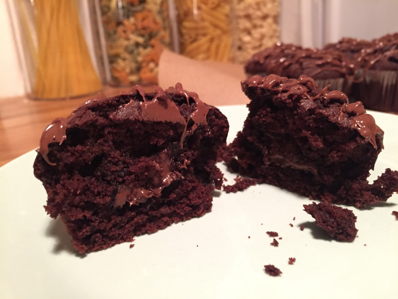 Schokoladen Nutella Muffins Meiliese