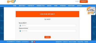 tips Cek Sisa Kuota Paket Internet, Pulsa dan Masa Aktif Bolt 4G Wifi Super Internet