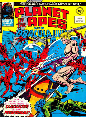 Marvel UK, Planet of the Apes #96