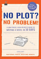 book cover for No Plot? No Problem! by Chris Baty