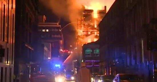 ANOTHER Major Fire at Rennie Mackintosh's Glasgow School of Art