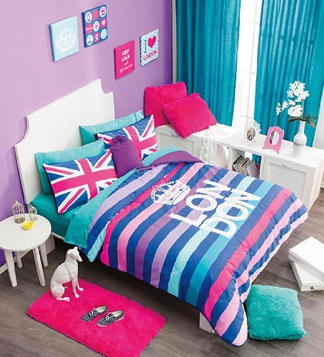 london themed bedroom. elegant and stylish london themed bedroom