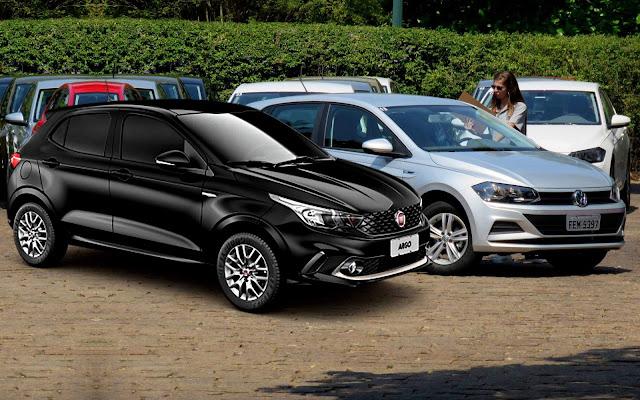 Fiat Argo x Volkswagen Polo: qual a melhor opção?