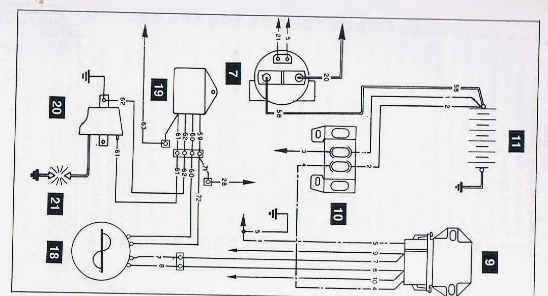 cdi ignition wiring diagram 2000 volvo v70 radio cagiva mito 125 : diagrams - electrics electrical