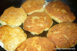 сырники с тыквой на сковороде