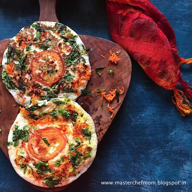 Uttapam | Vegetable Uttapam Recipe