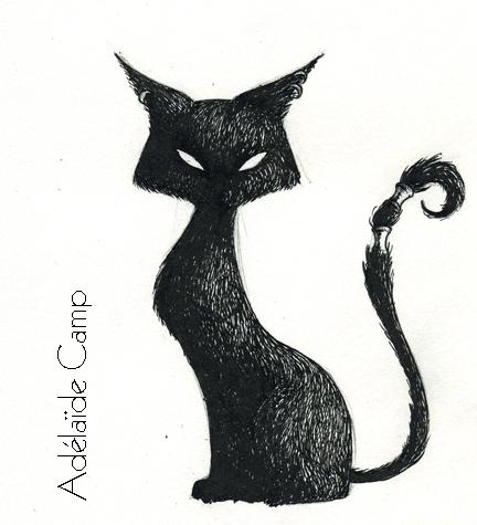 Adelaide Camp Illustratrice Chat Noir