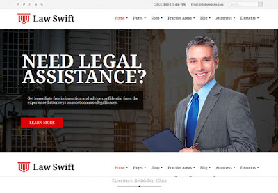 WordPress Attorney template