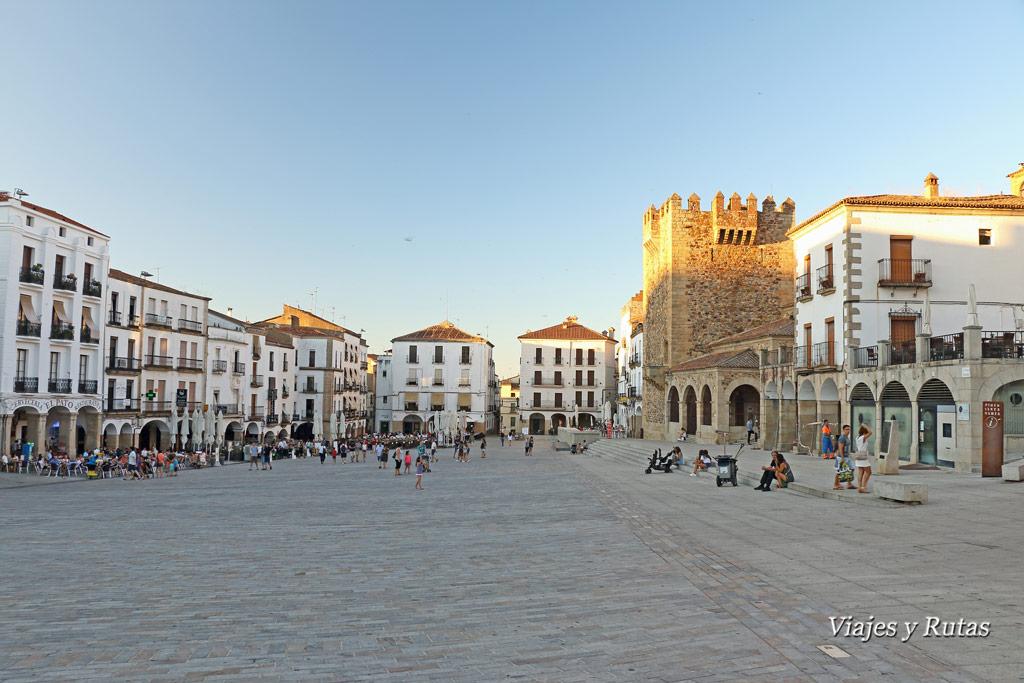 Plaza Mayor de Cáceres, Provincia de Cáceres, Extremadura