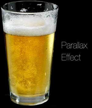 Cool Parallax Web Page Drink Beer Effect Using Jquery