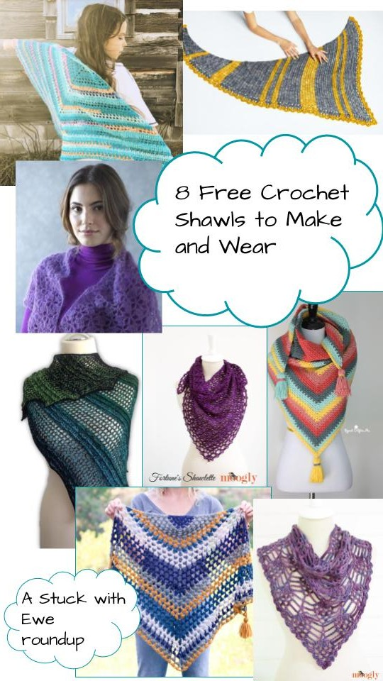 Stuck With Ewe 8 Free Shawl Patterns To Crochet And Wear