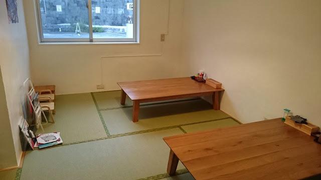 新山食堂 港川店の店内の写真