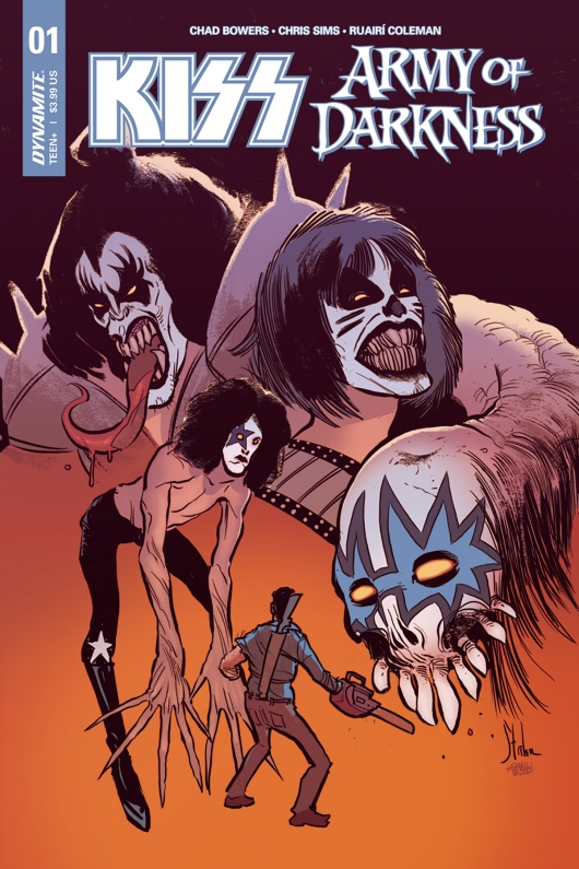Comic Review: KISS / Army Of Darkness #1