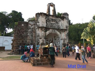 Bercuti ke Melaka Tempat Menarik Melaka A Famosa