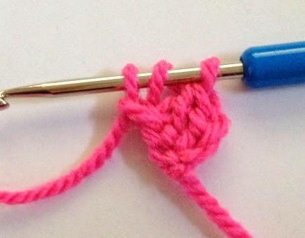 Elealinda Design Tutorial Fußschlingenanschlag Chainless Crochet