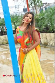 Actress Sri Reddy Pictures at Dandiya Navrang Utsav 2016 Curtain Raiser Event  0066.JPG