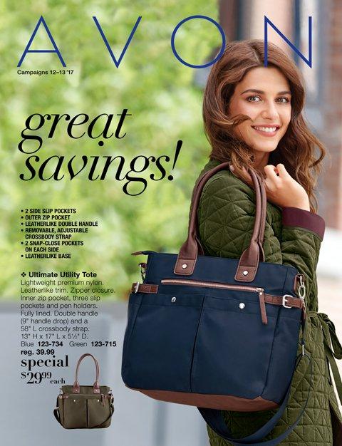 Avon Catalog 12 Sales Have Started