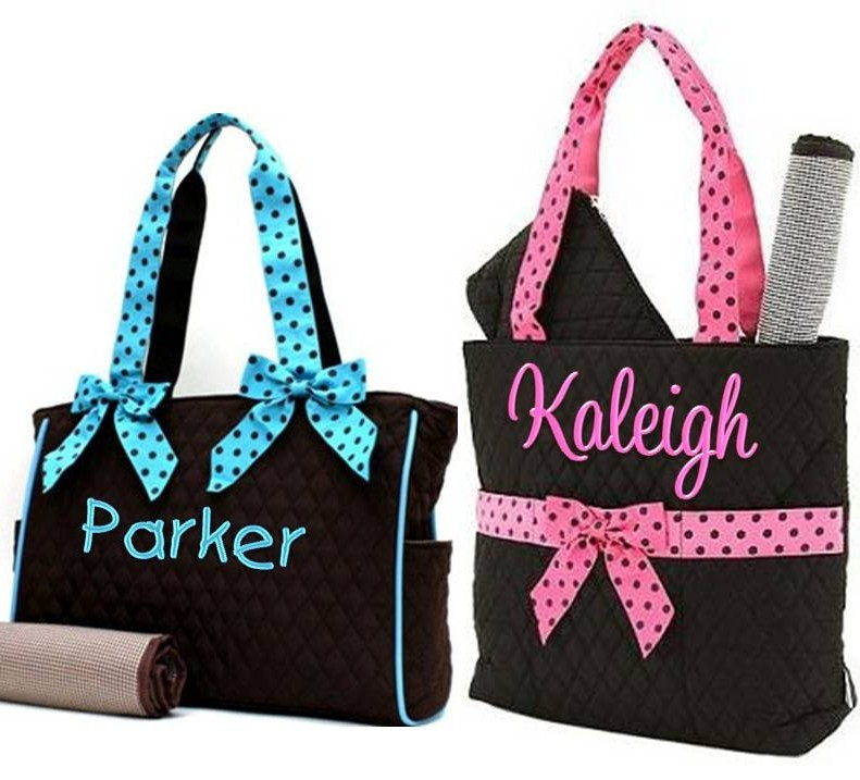 Personalized Canvas Tote Bags - Tote Bags : quilted monogrammed tote bags - Adamdwight.com