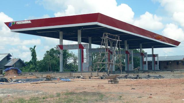 SPBU Baru Jalan Sengkawit Tanjung Selor Kalimantan Utara