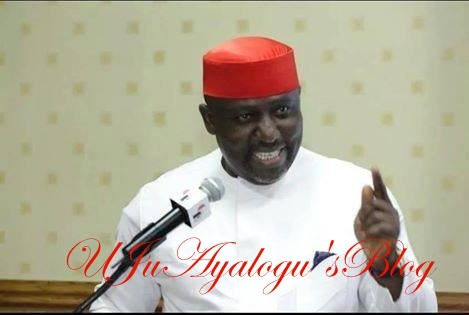Gov. Okorocha sneaks into Abuja court over his certificate of return, shuns journalists
