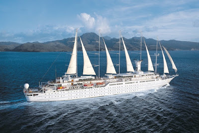 Windstar Cruises Sail Powered Cruise Ship Rated #1 in Travel Leisure Survey of Readers.