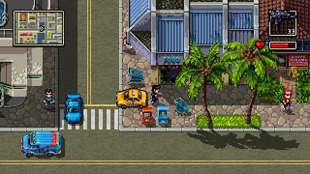 Más imágenes en movimiento de Shadown Hawaii para 3DS. Lo nuevo del creador de Retro City Rampage