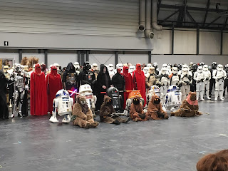 mcm comic con, uk r2d2 builders club