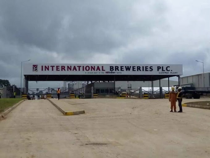 Buhari set to commission the $250m international breweries in west Africa in Ogun State